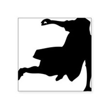 "oldskoolbdancer Square Sticker 3"" x 3"""