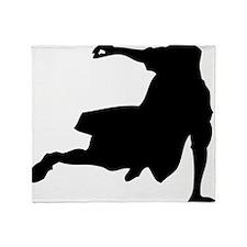 oldskoolbdancer Throw Blanket