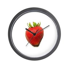 Unique Strawberry Wall Clock