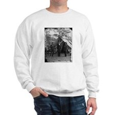 Lincoln by Matthew Brady Sweatshirt