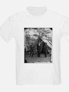 Lincoln by Matthew Brady Kids T-Shirt