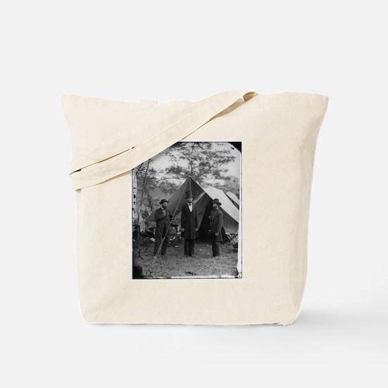 Lincoln by Matthew Brady Tote Bag