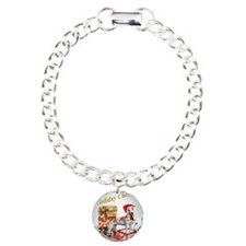 Greyhound  Holiday Cheer Bracelet