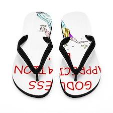GODDESS Flip Flops