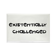Existentially Challenged Rectangle Magnet
