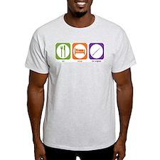 Eat Sleep Cor Anglais Ash Grey T-Shirt
