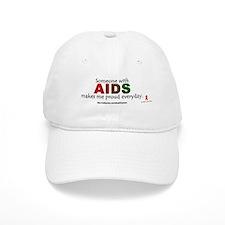 """""""AIDS pride"""" Baseball Cap"""