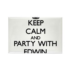 Keep Calm and Party with Edwin Magnets
