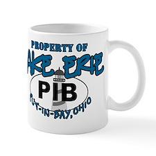 property of lake erie pib guys Mug