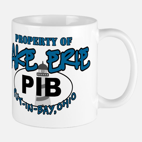property of lake erie pib guys Mug