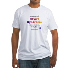 """""""Reye's Syndrome"""" Fitted T-Shirt"""