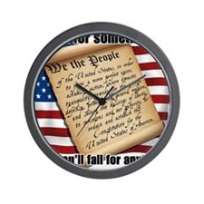 stand for something Wall Clock