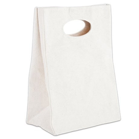 Haiku Shirt white Canvas Lunch Tote