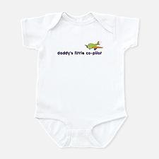 ::: Daddy's Little Co-Pilot ::: Infant Bodysuit