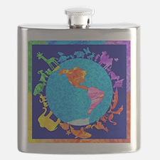 peaceablekingdom Flask