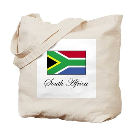 South Africa - Flag Tote Bag