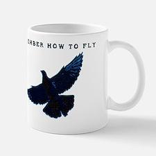 middle pigeons Mug