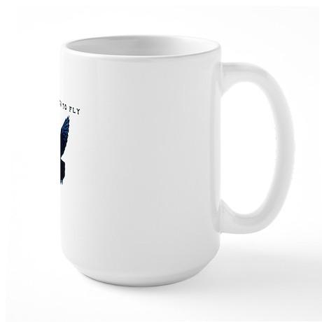 middle pigeons Large Mug