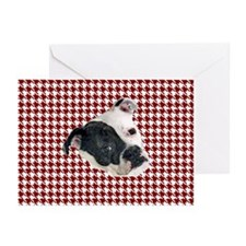 houndstooth tosa i Greeting Cards (Pk of 10)