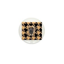 houndstooth tosa i Mini Button