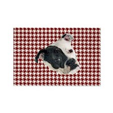 houndstooth tosa i Rectangle Magnet