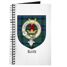 Keith Clan Crest Tartan Journal