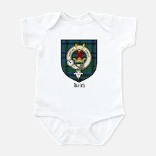 Keith Clan Crest Tartan Infant Bodysuit