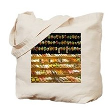2-16x20_print SUSHI WALL Tote Bag