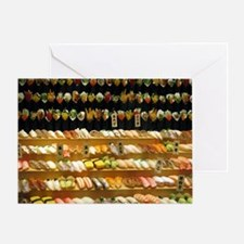 2-16x20_print SUSHI WALL Greeting Card
