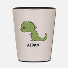 Personalized Dinosaur Shot Glass