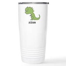 Personalized Dinosaur Travel Mug
