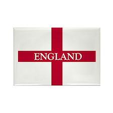 PC English Flag - England Goudy o Rectangle Magnet