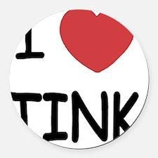 TINK Round Car Magnet