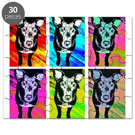 Art Dog Puzzle