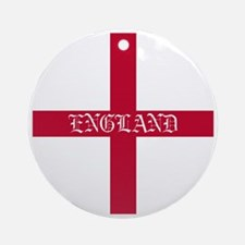 KB English Flag - England oldstyle Round Ornament