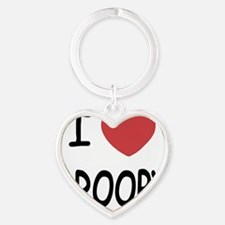 DROOPY Heart Keychain