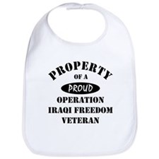 Property of Proud OIF Veteran Bib