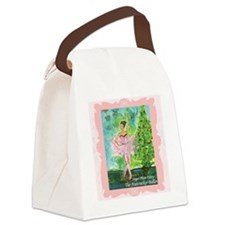 20101008 -Sugarplum Fairy002SQ-20 Canvas Lunch Bag