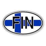 Finland Bumper Stickers