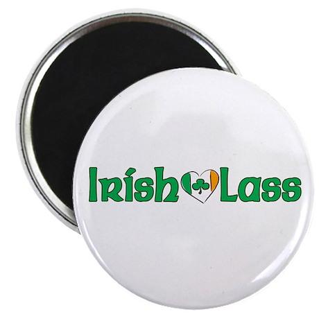 """Irish Lass 2.25"""" Magnet (10 pack)"""