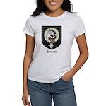 Kennedy Clan Crest Tartan Women's T-Shirt