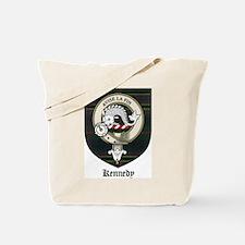 Kennedy Clan Crest Tartan Tote Bag