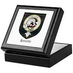 Kennedy Clan Crest Tartan Keepsake Box