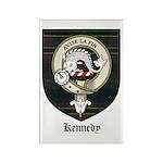 Kennedy Clan Crest Tartan Rectangle Magnet (10 pac
