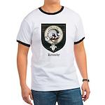 Kennedy Clan Crest Tartan Ringer T