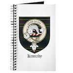 Kennedy Clan Crest Tartan Journal