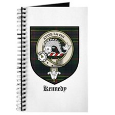 Kennedy Clan Crest Tartan Journal
