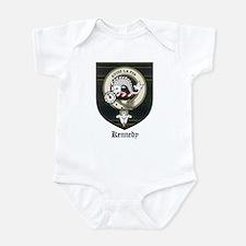Kennedy Clan Crest Tartan Infant Bodysuit