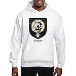 Kennedy Clan Crest Tartan Hooded Sweatshirt