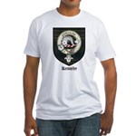Kennedy Clan Crest Tartan Fitted T-Shirt